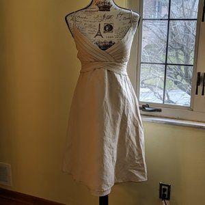 Calvin Klein Dress   Nude   A Line   Spaghetti